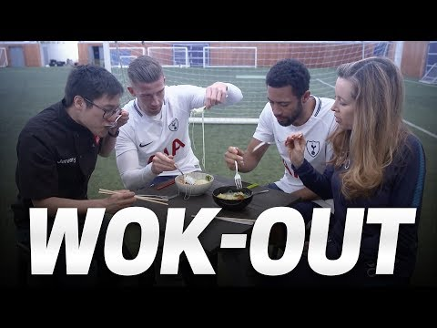 BALL CANNON CHALLENGE | Cooking with Mousa Dembele and Toby Alderweireld