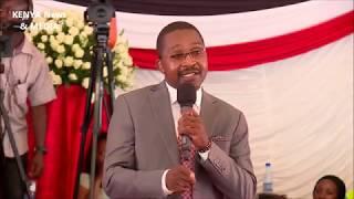 Mwangi Wa Iria SPEECH during JOSEPH KAMARU funeral service BURIAL