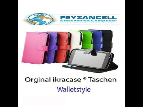 Original ikracase ® Tasche Walletstyle für Mobistel Cynus T6