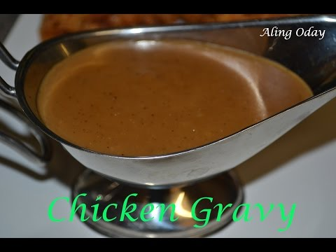 Quick and Easy Gravy (Filipino Style)