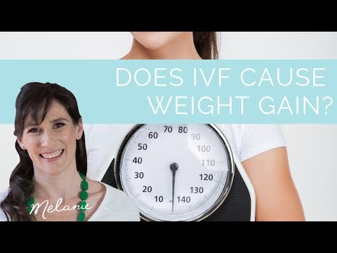 Does IVF cause weight gain? - Melanie McGrice