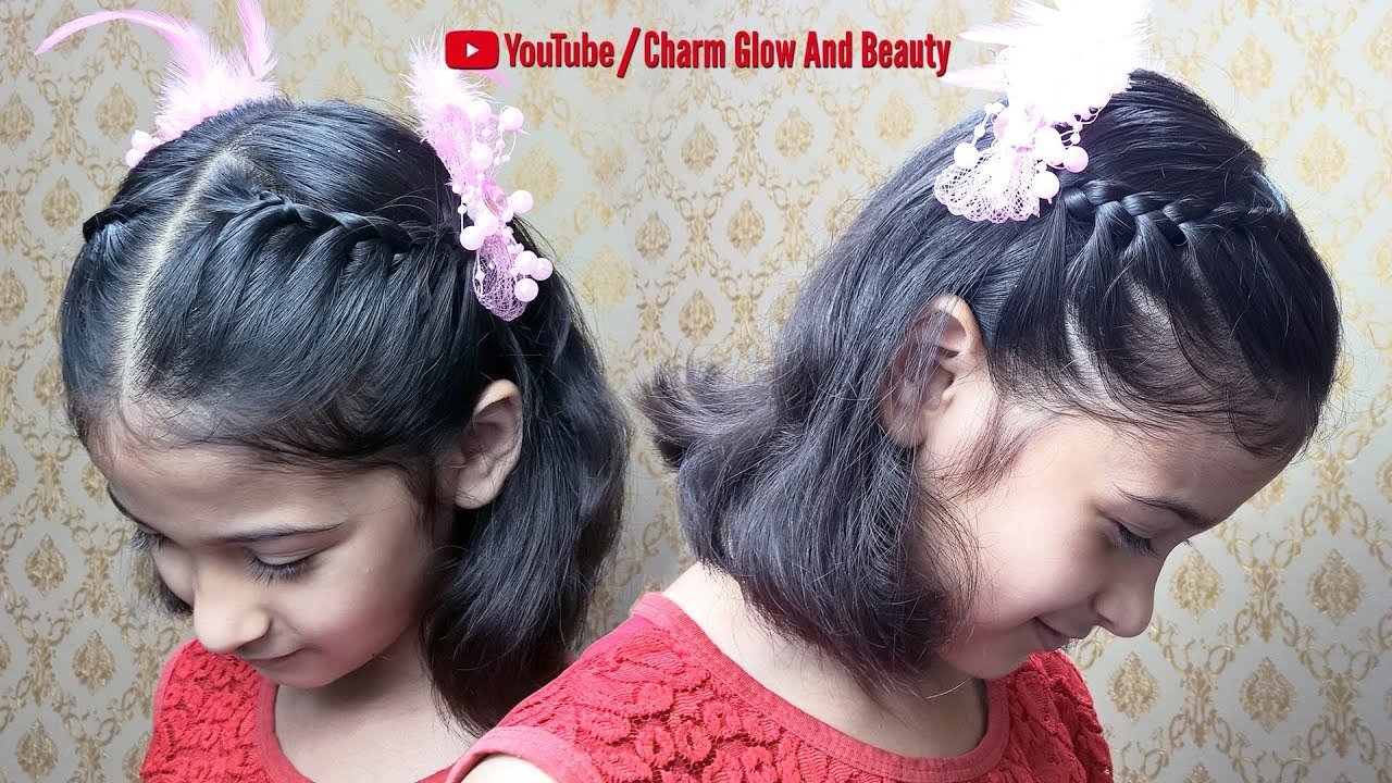 New Hairstyle For Short Hair Girl 2019 Hairstyles For Kids Girls Youtube