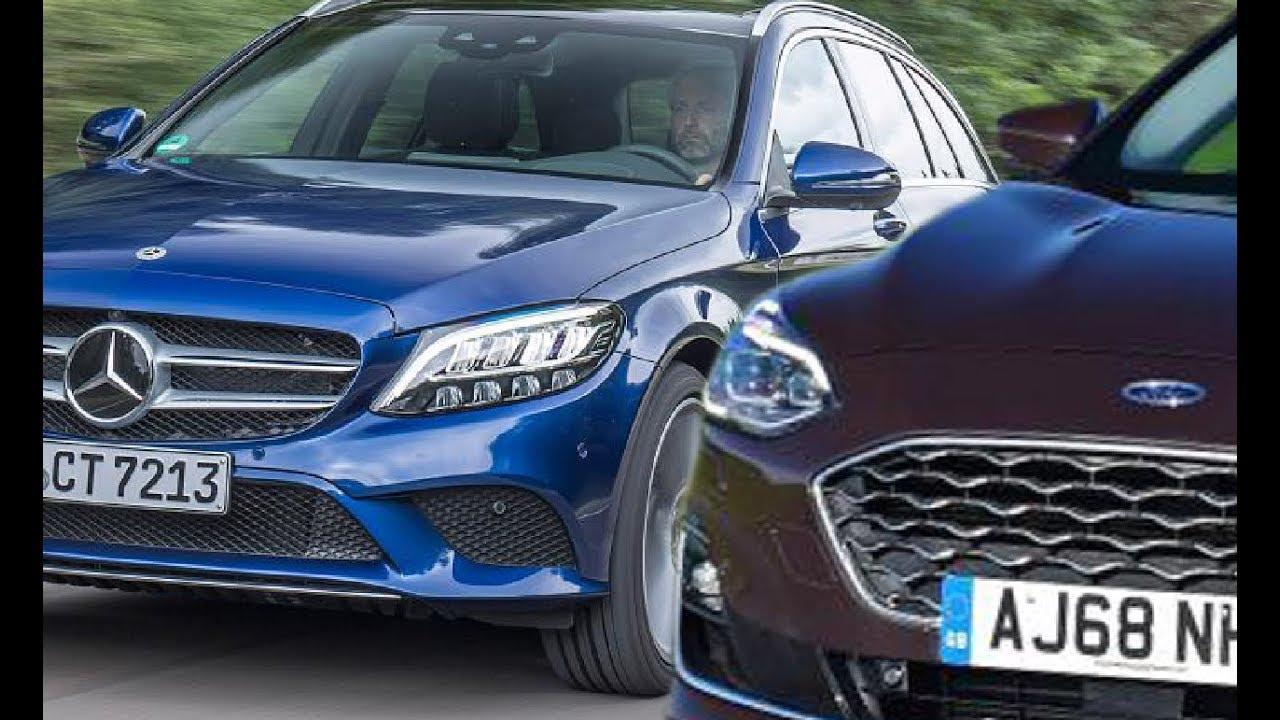 2019 Ford Focus Vignale Estate Vs 2019 Mercedes C Class Estate