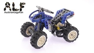 Lego Technic 8282 Quad Bike - Lego Speed Build Review