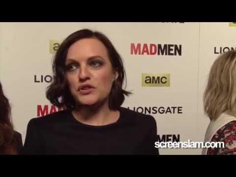 "Mad Men Final Season: Elizabeth Moss ""Peggy Olson"" Premiere Interview"