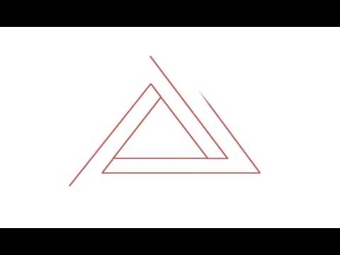 How to draw the Penrose triangle
