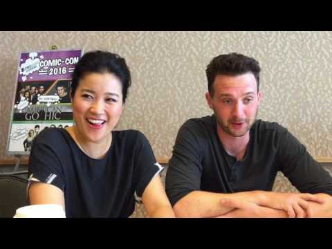 SDCC 2016: Jadyn Wong and Eddie Kaye Thomas talk SCORPION and Quintis