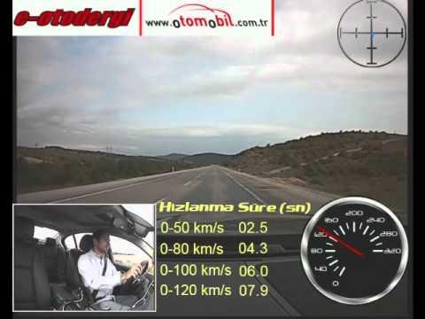 BMW 535i Performans Testi (0-100 Km/s, 0-120 Km/s, 100-0 Km/s)