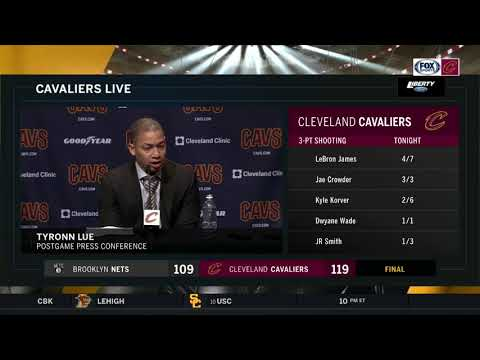 Ty Lue challenged LeBron James at halftime, James responded with a 4th quarter for the ages