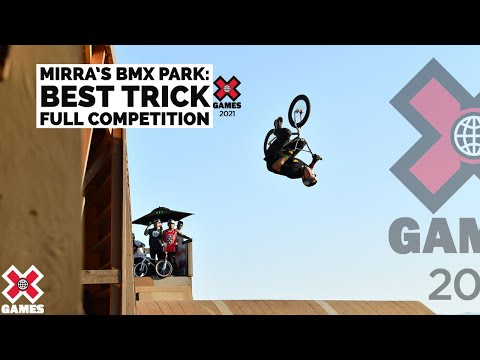 Dave Mirra BMX Park Best Trick: FULL COMPETITION | X Games 2021
