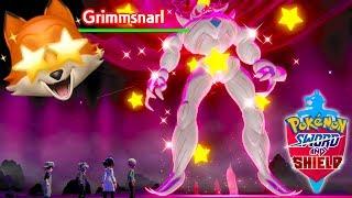 SHINY HA GIGANTAMAX GRIMMSNARL + SHINY VANILLUXE!! (Pokémon Sword And Shield)