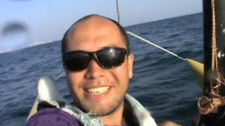 Парусный катамаран. Переправа с острова Ко Ларн на Джомтьен.(Это видео было снято 3 ноября 2013 года. На момент съемки мы еще не знали, что скоро затонет паром с туристами,..., 2016-03-16T05:14:51.000Z)