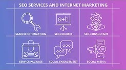 SEO And Internet Marketing   Outline Icons After Effects Template