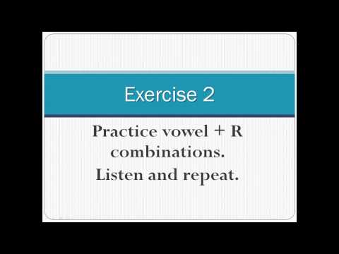 Pronunciation of English Vowel Sounds 4 - Central Vowels - Part 2 (with captions)