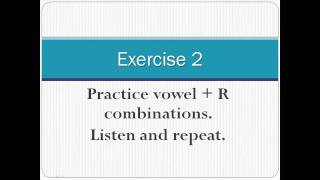 Pronunciation of English Vowel Sounds 4 - Central Vowels - Part 2