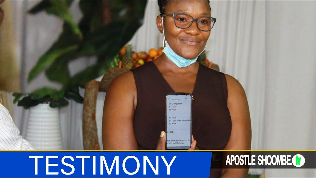 Download Selma Amupolo touching testimonies to encourage students to study & pray with apostle Shoombe
