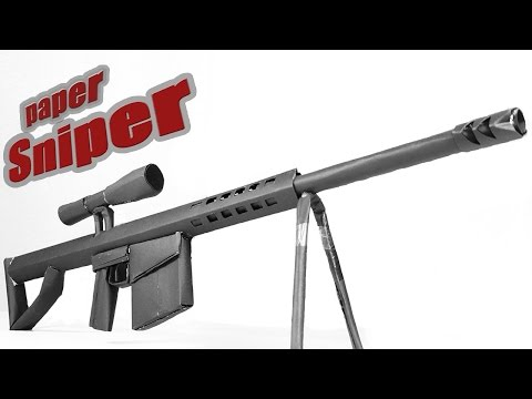 paper sniper rifle The c-20a is a terran canister rifle it is the successor to the c-10 in use by 2503, it may be used as a sniper rifle the rifle continued to see use well after the end war.