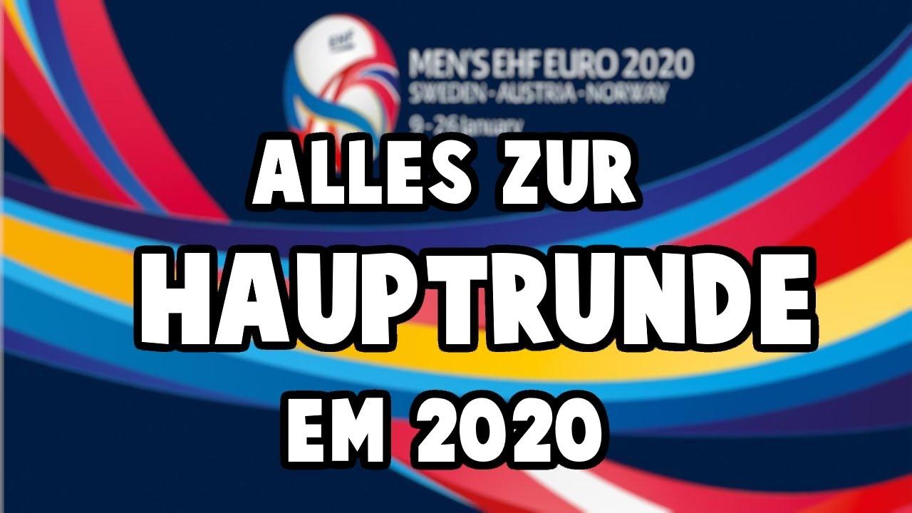 Em Hauptrunde Alle Infos Die Du Brauchst Em 2020