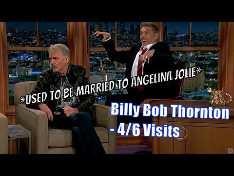 Billy Bob Thornton  The Least Socially Awkward Guy, Ever?  46 Visits In Chronological Order