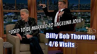 Billy Bob Thornton - The Least Socially Awkward Guy, Ever? - 4/6 Visits In Chronological Order