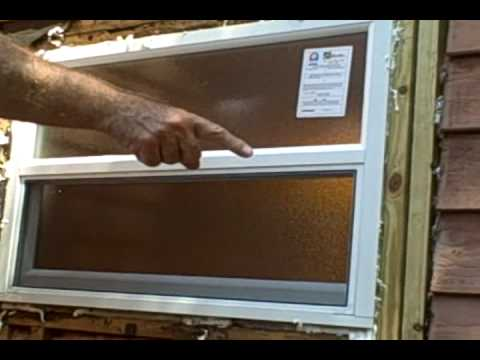 How to Install Replacement Windows Part 4