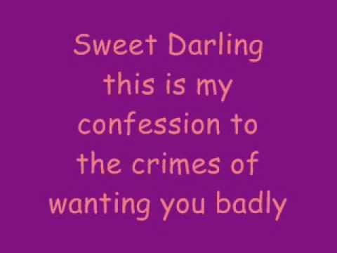 Between the trees - Darlin with lyrics