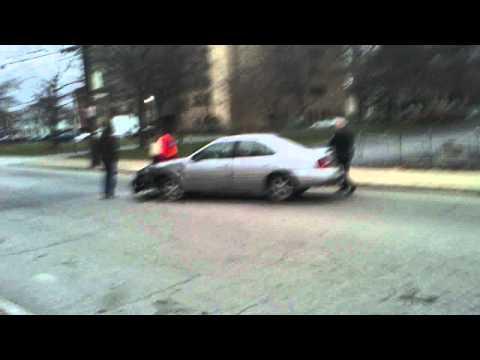 woonsocket rhode island bus versus car