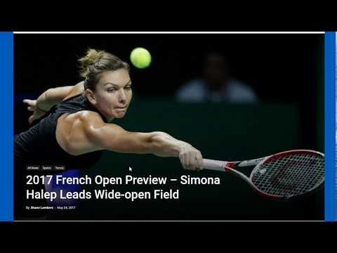 2017 French Open favorites women's preview