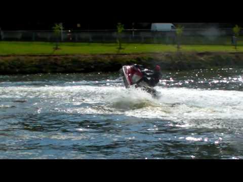 Yamaha Supercharged FX Cruiser Sho on the river Boyne