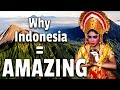 Gambar cover Amazing Facts About Indonesia  From 9 Americans