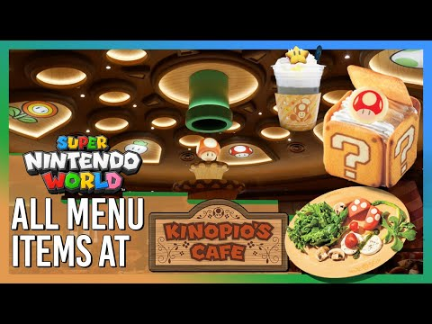 ALL menu items