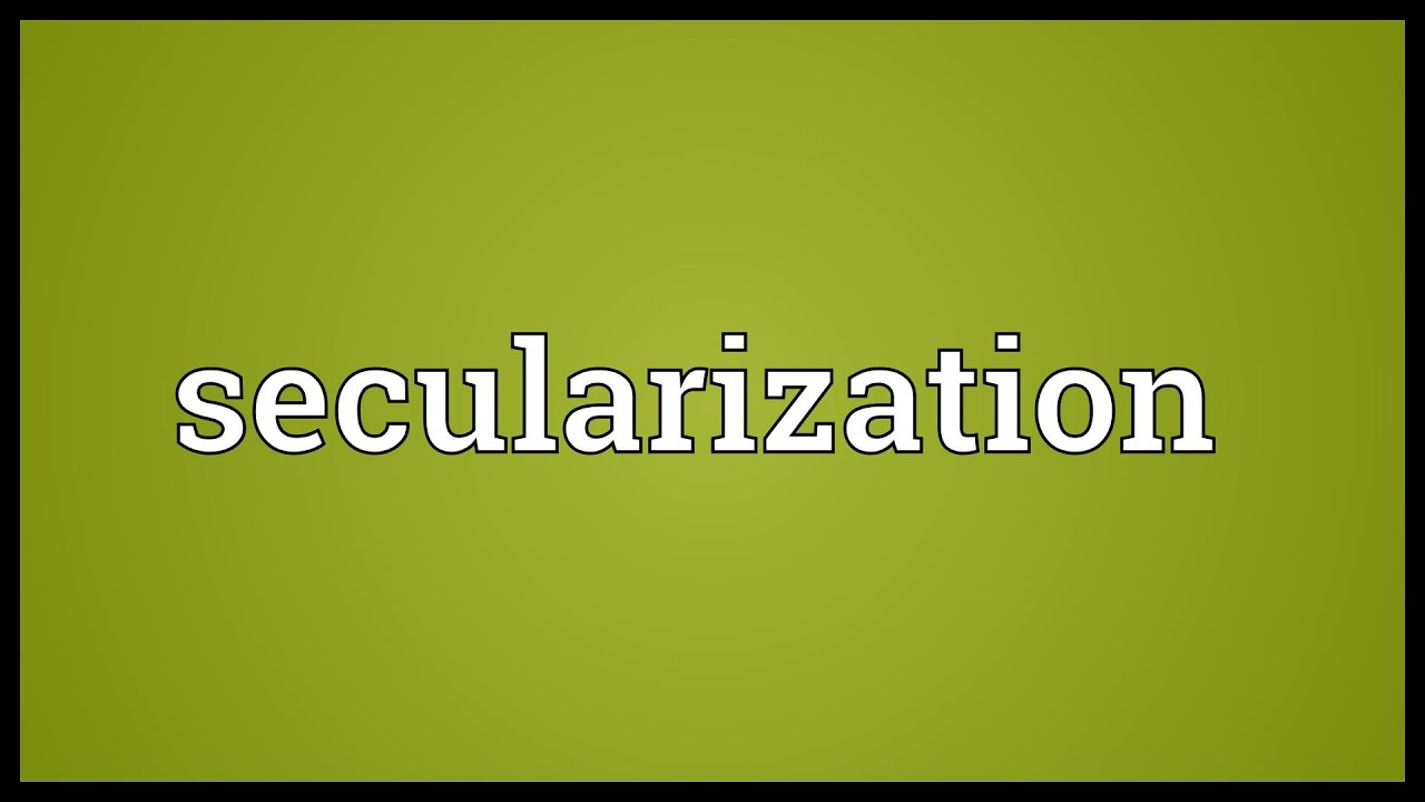 secularisation thesis Summary it has long been believed that secularisation is the inevitable by-product of modernisation, and that the rise of modern science, pluralism, and consumerism.