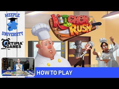 Kitchen Rush Board Game Boardgamegeek
