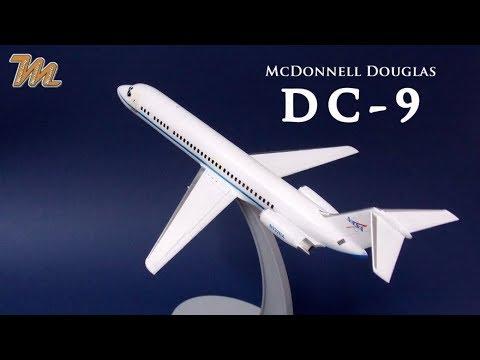 McDonnell Douglas DC-9 NASA - Fly models - 1/144 plastic scale model build