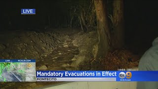 Montecito Residents Brace For Bigger Rains After Relative Calm During Storm