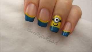 Миньоны на ваших пальчиках - Minion Nails
