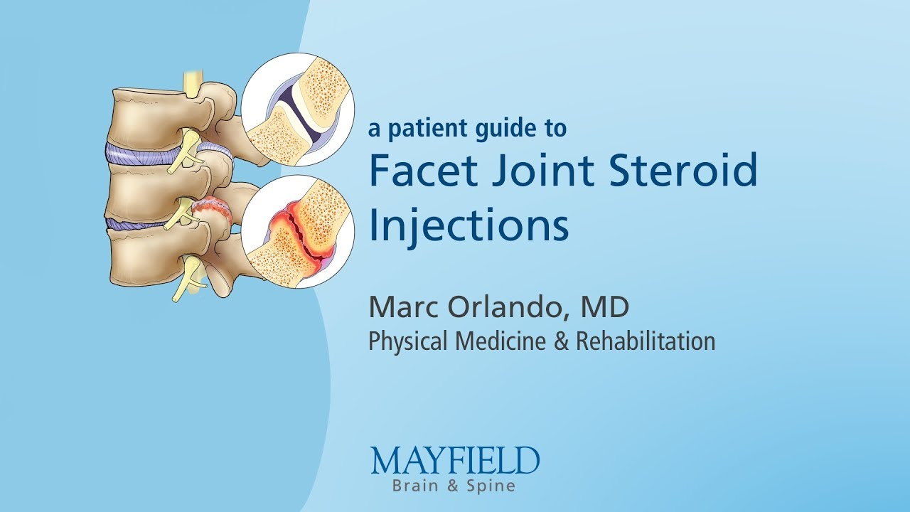 Steroid injection for joint pain