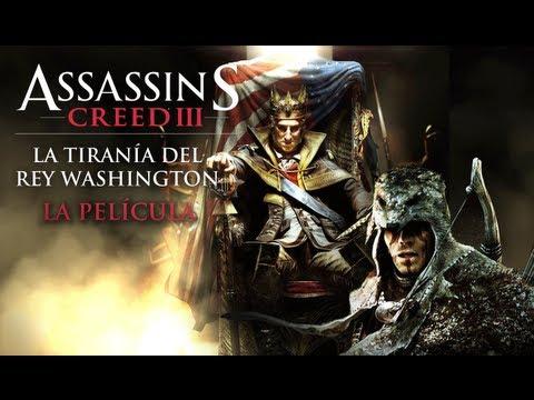 Assassin's Creed 3 La Tiranía del Rey Washington DLC   Película Completa en Español (Full Movie)