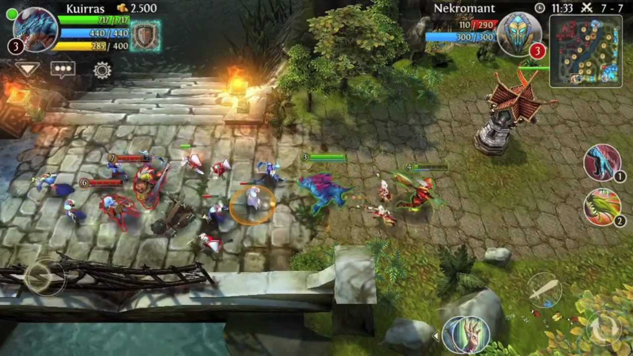 Game Moba In Android