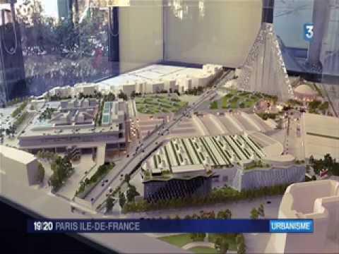 Paris Convention Centre et les travaux de Paris Expo Porte de Versailles