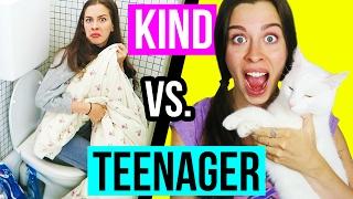 KIND vs. TEENAGER: ALLEINE ZUHAUSE! 😅😏 Vorstellung früher vs Realität heute!