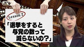 テレビ朝日の林美沙希アナウンサーが「選挙マイスター」をめざし猛特訓...