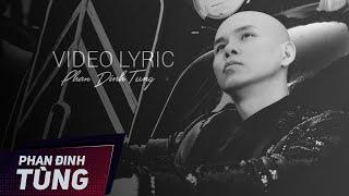 Riêng Một Góc Trời   Phan Đinh Tùng   Video Lyrics