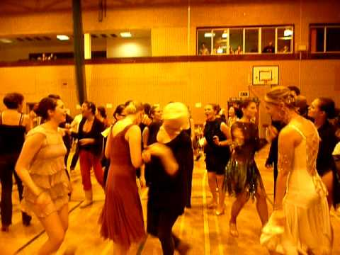 UKC Ballroom And Latin Dance Club Having Fun After Nottingham Competition 2009
