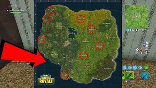 ALL GNOME LOCATIONS & RETAIL ROW TREASURE MAP FORTNITE EASY GUIDE