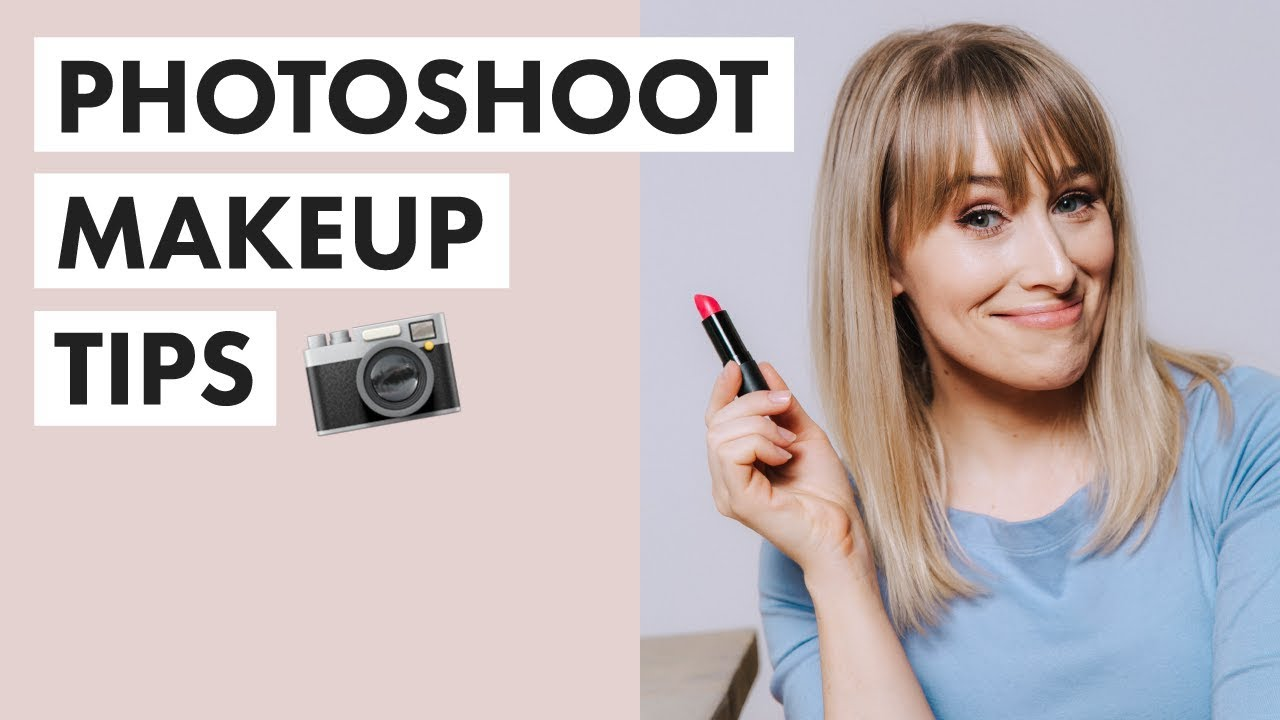 PHOTOSHOOT MAKEUP  11 Essential Camera-Friendly Makeup Tips for PHOTOS +  VIDEOS