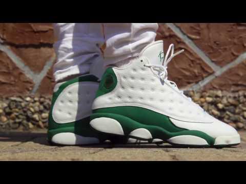 finest selection b4a8a 5fd31 Jordan 13 Ray Allen on feet