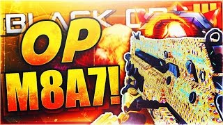 "HOW TO MAKE ""M8A7"" OVERPOWERED in Black Ops 3! Best Assault Rifle Nuclear Class Setup (BO3 OP Class)"