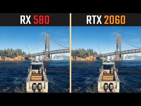 RTX 2060 vs. RX 580 - Тест в 8 Играх
