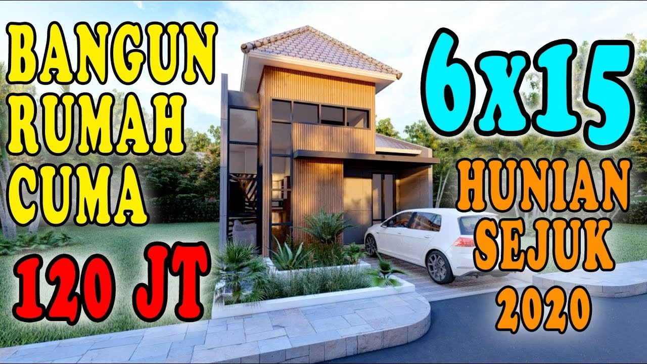 Desain Rumah 6x15 Hunian Sehat Dan Hemat Biaya 2020 Design By Orleans Studio Youtube
